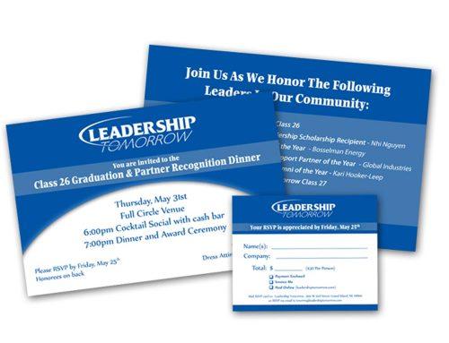 Leadership Tomorrow – Event Invite