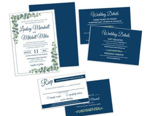 Miles Wedding – Wedding Invite