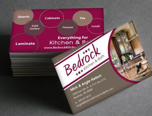 Bedrock Kitchen & Bath – Business Cards